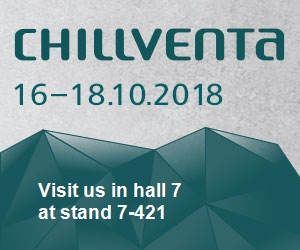 Get together at Chillventa from 16 to 18 October 2018 in Nuremberg