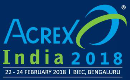 ACREX 2018 Biec Bengaluru India