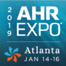 AHR 2019 Atlanta : 14 to 16 January 2019