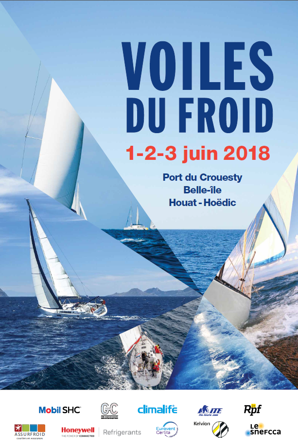 "1st, 2nd & 3rd June 2018:  We're off to Brittany for the 26th ""Voiles du Froid"" event!"