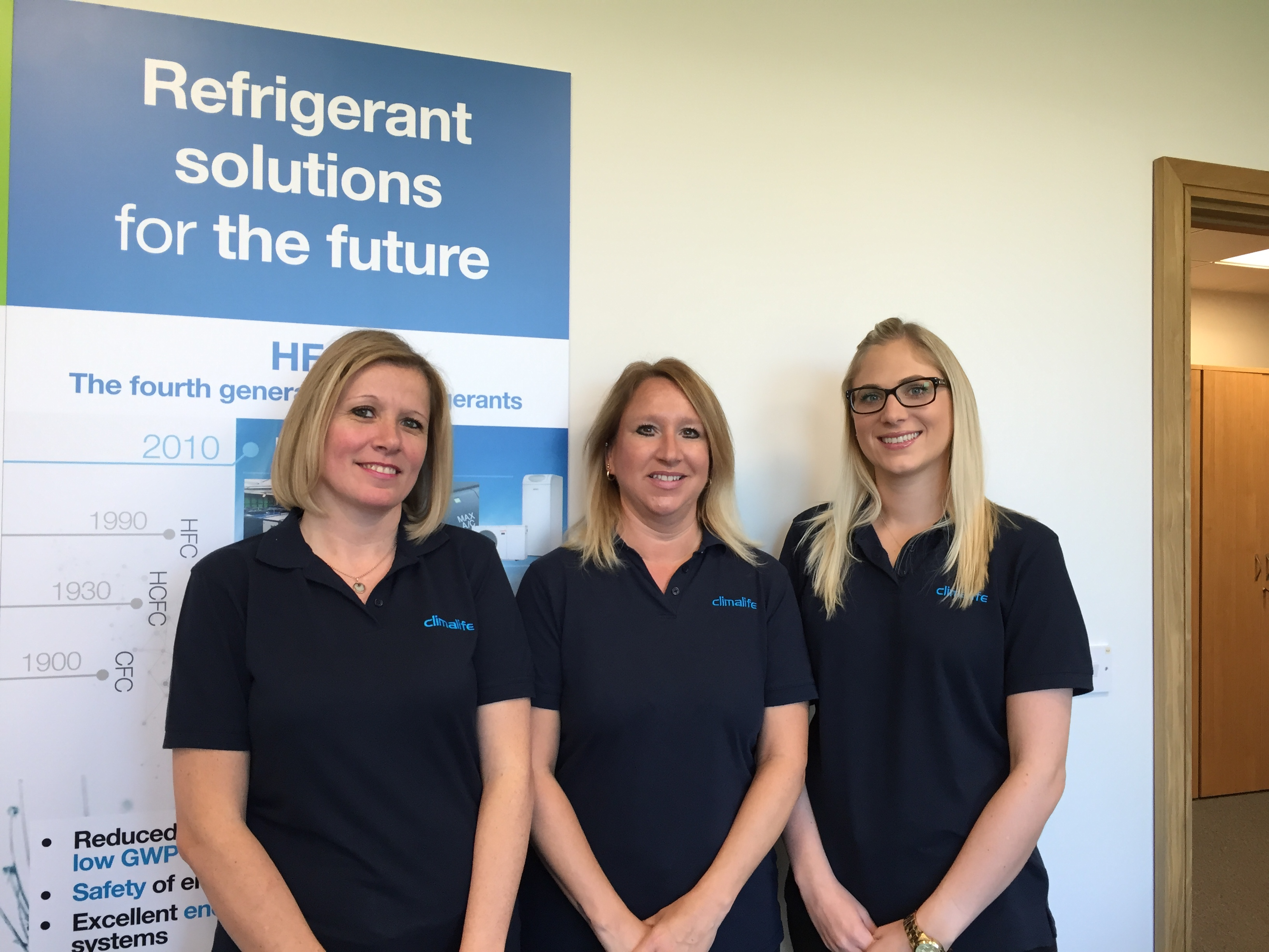 Climalife UK Customer Services Team