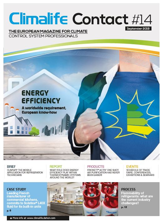 Climalife Contact 14 - Energy efficiency : A worldwide requirement, European know-how
