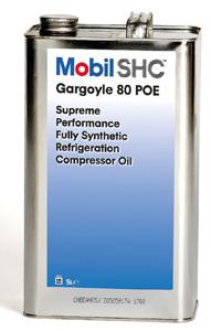 Mobil SHC Gargoyle 80 POE is a high performance refrigeration oil