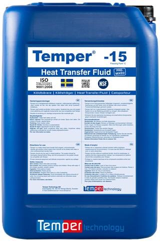 HTF refrigerant for secondary system